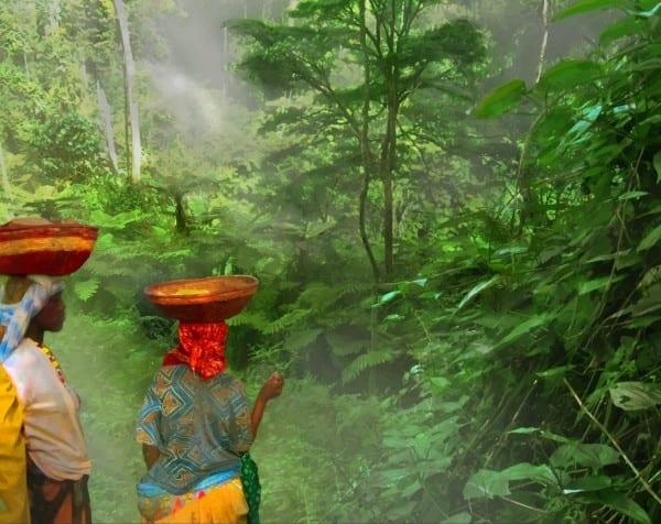 """Portada del libro """"En el ecuador de Guinea"""""""