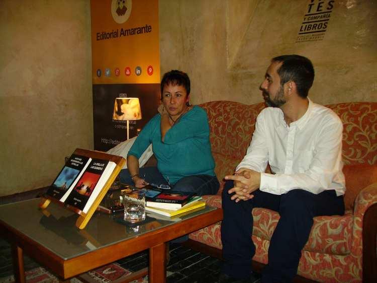 Esther Aparicio y Víctor Marchán