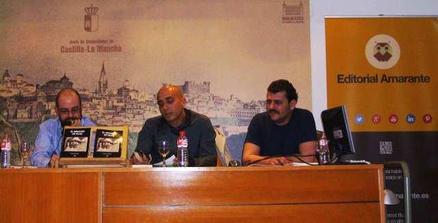 De izquierda a derecha: Carlos Rodrigo, David Calvo Vélez y Carlos Ávila
