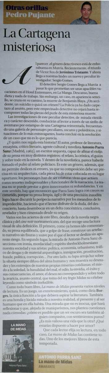 Pedro Pujante Editorial Amarante