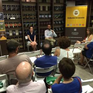 Presentación Greta Legris en Espacio Amarante
