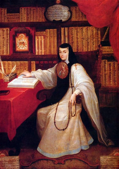 Retrato de Sor Juana Inés de la Cruz (Miguel Cabrera) - Wikimedia https://es.wikipedia.org/wiki/Sor_Juana_In%C3%A9s_de_la_Cruz