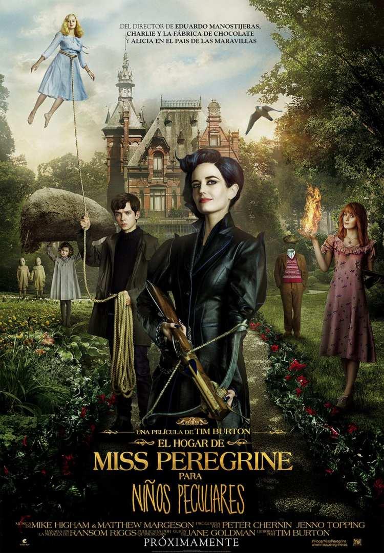 La peculiaridad de Tim Burton. «El hogar de Miss Peregrine para niños peculiares»