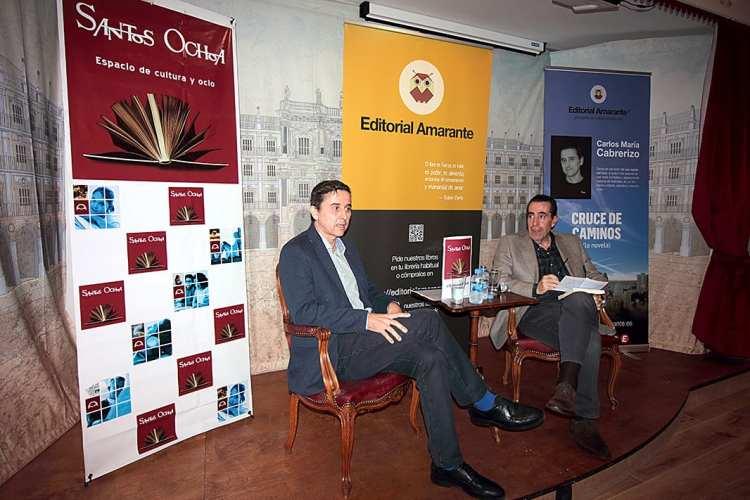 Salamanca, Amarante literario y más en la nueva librería Santos-Ochoa