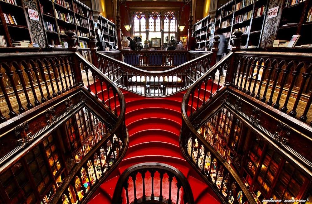 Librería Lello de Oporto: Harry Potter ni está ni se le espera