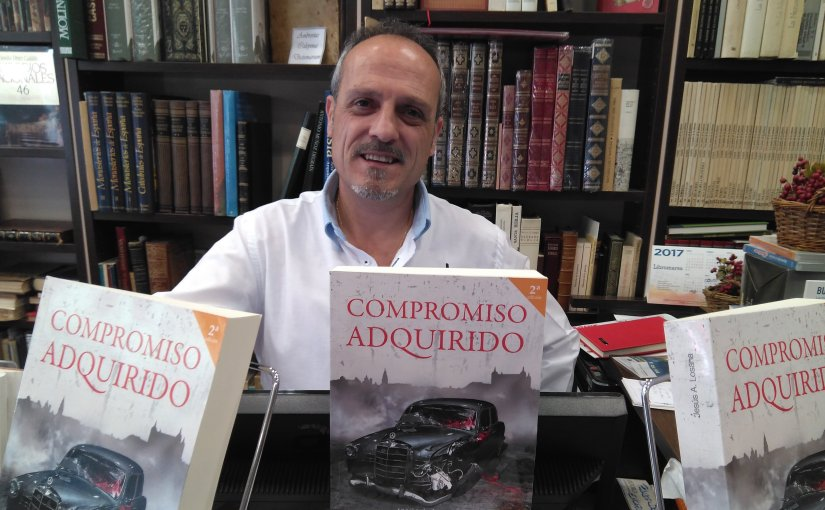 Jesús A. Losana aterriza en Madrid con su Compromiso Adquirido