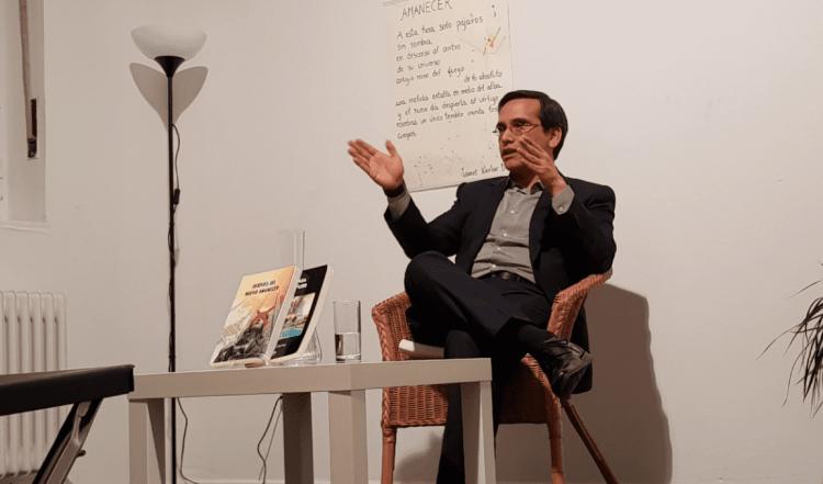 Erasmo Cachay presenta su novela en Munich
