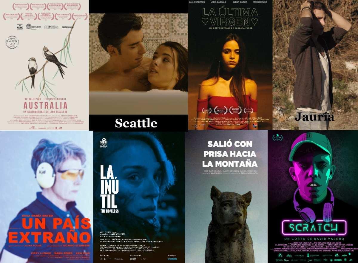 21º Festival de Málaga - Cine en español - Cortometrajes (1) Entrevistas a Marta Aledo y Lino Escalera