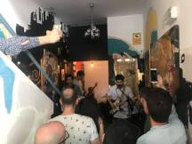 Festival del Hueco del Ascensor, en La Salchichería
