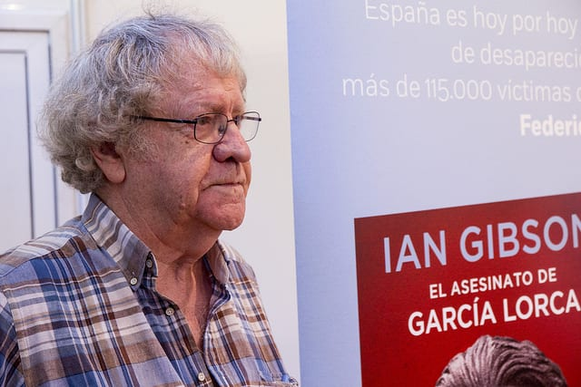 """Ian Gibson: """"Lorca puede ser el símbolo de reconciliación en España"""""""