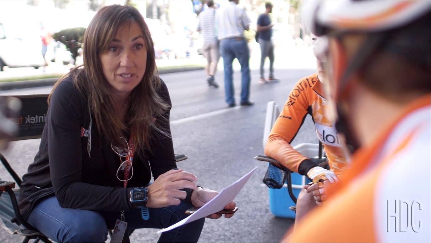 La ciclista Dori Ruano