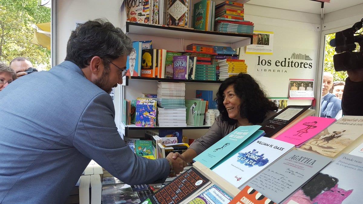 """Màxim Huerta: """"Me gustaría trasladar el espíritu de la Feria del Libro al resto de sectores de la cultura"""""""