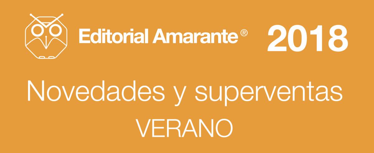 Editorial Amarante - ACALANDA Magazine - Catálogo novedades verano 2018