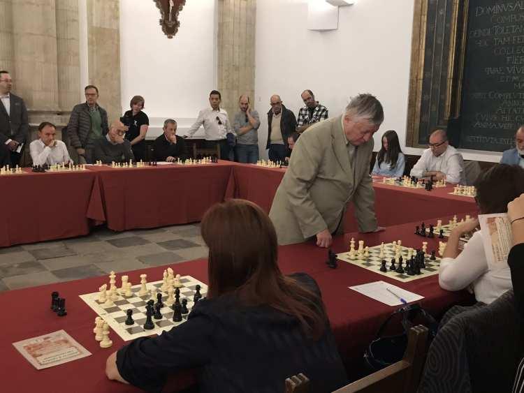 Salamanca se viste de Ajedrez