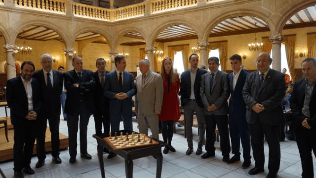 presentacion1-Ajedrez VIII Centenario Salamanca