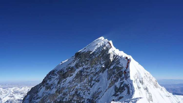 Everest y «Le spleen de Paris»
