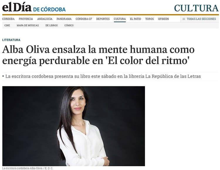 Alba Oliva ensalza la mente humana como energía perdurable en 'El color del ritmo'