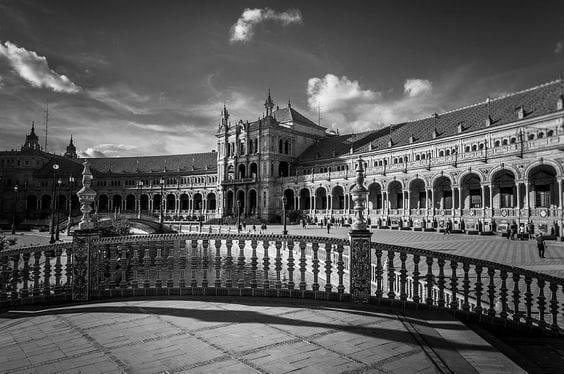 Plaza de España, Sevilla.