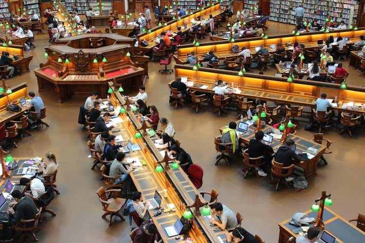 Library High Angle Photro