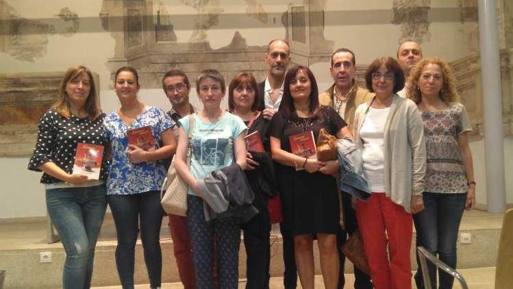 """Presentación de """"Sábado Inglés"""" del escritor gallego afincado en Zamora Jorge L. Penabade"""