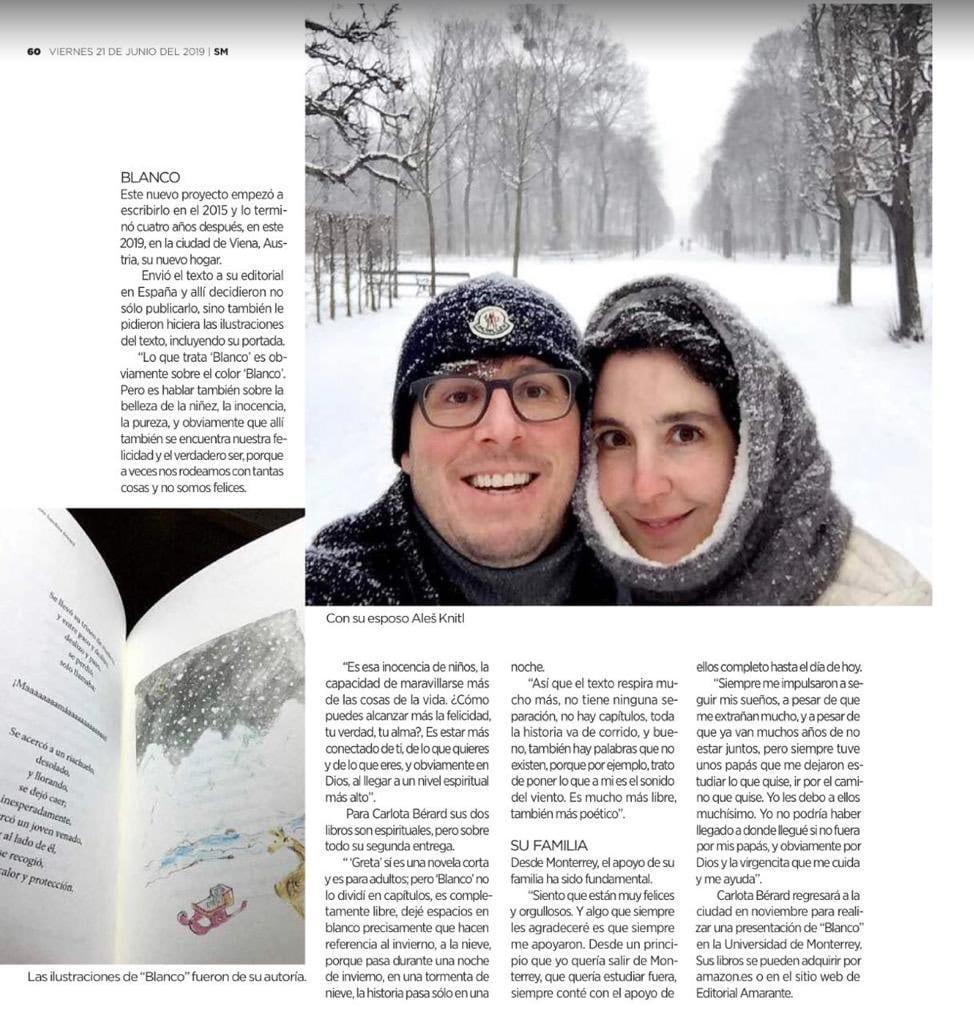 Blanco - Carlota Josefina Bérard - Editorial Amarante