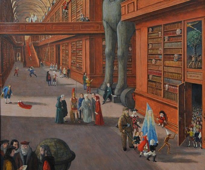 La Biblioteca Mágica