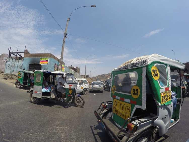 Mi primera impresión de Lima: El caótico tráfico