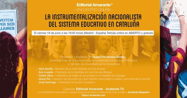 La instrumentalización nacionalista del sistema educativo en Cataluña