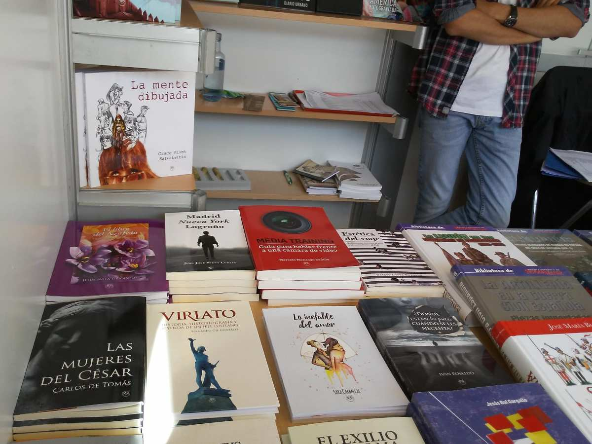 Amarante en la Feria del Libro de Valladolid