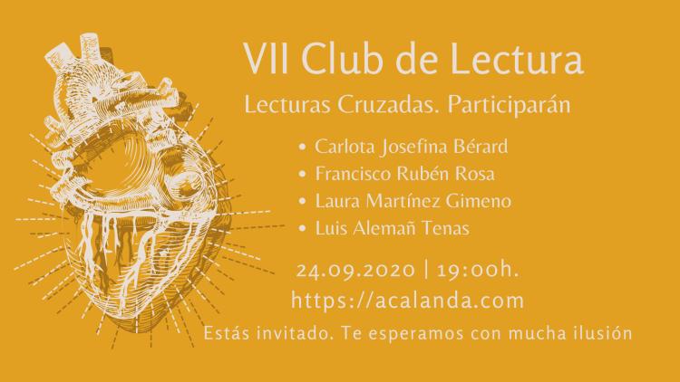 VII Club de Lectura: Lecturas Cruzadas