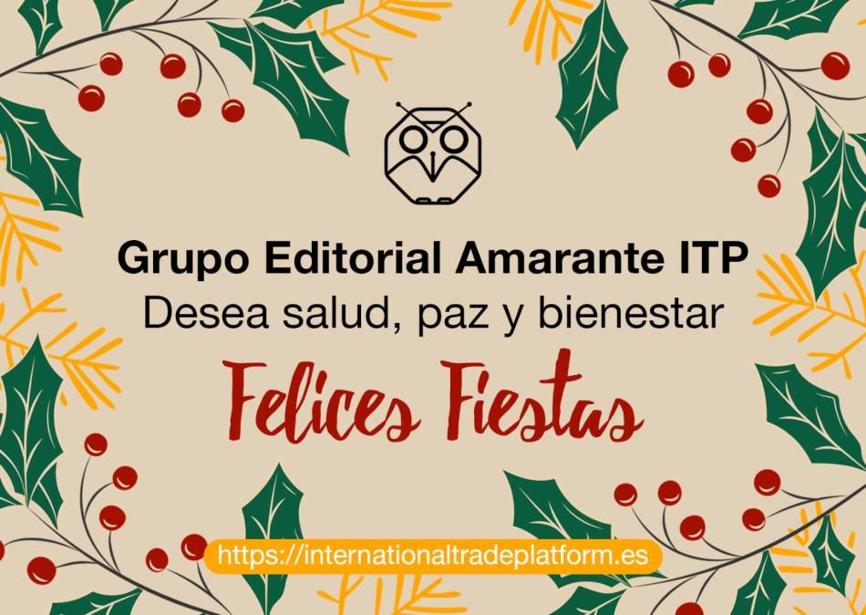 Tarjeta Navidad ITP Acalanda TV. Desea salud, paz y bienestar