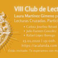 VIII Club de Lectura: Lecturas Cruzadas
