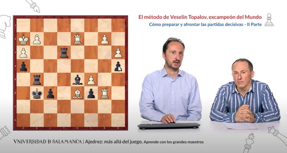 Veselin Topalov - Ajedrez más allá del juego - Salamanca - Acalanda Magazine - Editorial Amarante