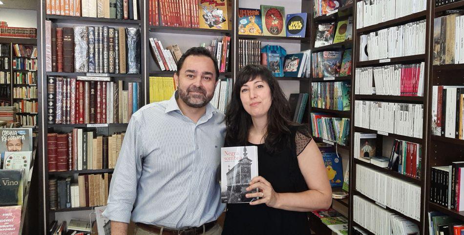 Negra sombra de Alberto Louzán - Editorial Amarante