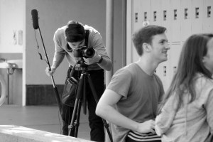 Student Filmmakers Producing Silent in the Moonlight