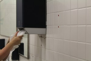 New Paper Towel Dispensers Found Across the School District