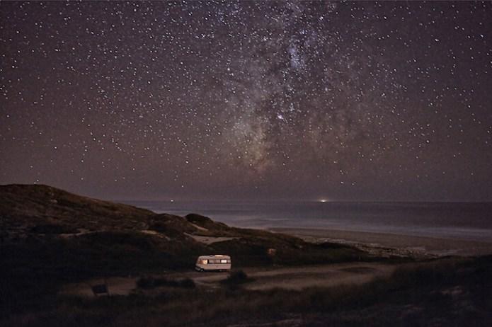 Alessandro Puccinelli, Una caravana en el mar