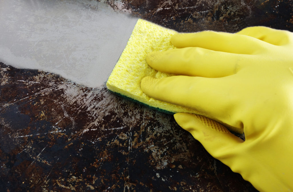 How to Clean Up a Grease Spill