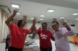 Odacy parabeniza Cristina Costa por vitória no PED 2013 em Petrolina