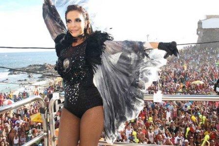 Ivete agradece Grande Rio: 'Momento mágico'