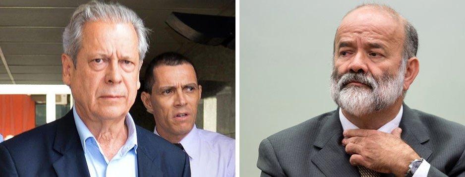 Justiça condena Dirceu a 30 anos e absolve Vaccari