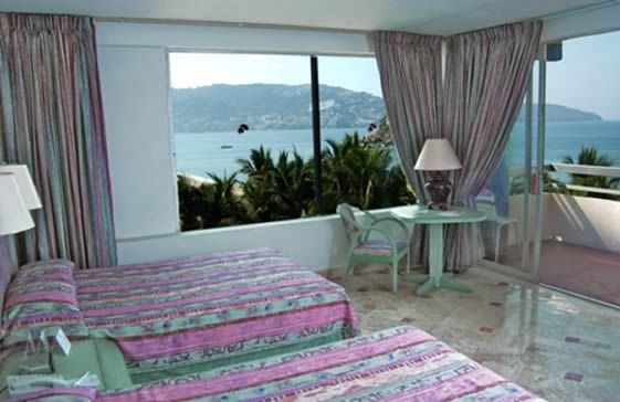 Habitaciones en el Hotel Playa Suites Acapulco