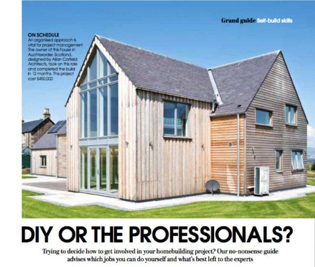 Grand Designs Diy Self Build Allan Corfield Architects