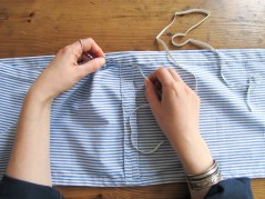 DIY // Comment coudre une robe à épaules dénudées // How to sew an off shoulders dress // A Cardboard Dream Blog