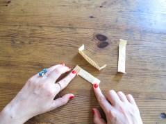 DIY COUTURE FACILE / La jupe d'été /Easy sew How to make a summer skirt / A Cardboard Dream blog