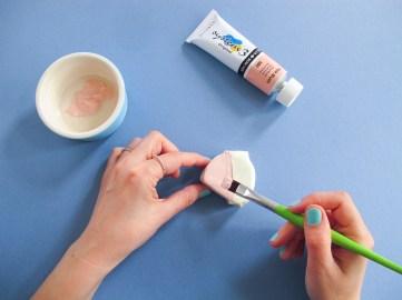 DIY / Comment réaliser des portes-photos en pâte fimo // How to make picture holders with fimo paste // A Cardboard Dream blog