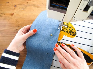 DIY // Comment coudre une pochette wax // How to sew a clutch bag // A Cardboard Dream blog