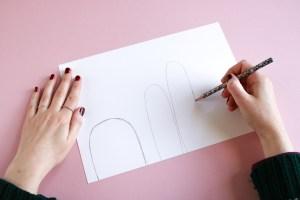 DIY // Réaliser des mini cactus en feutrine // How to make mini felt cactus // A Cardboard Dream blog