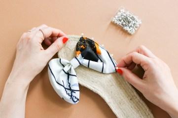 DIY // Réaliser des sandales espadrilles à noeud // How to make cute espadrilles sandals // A Cardboard Dream blog