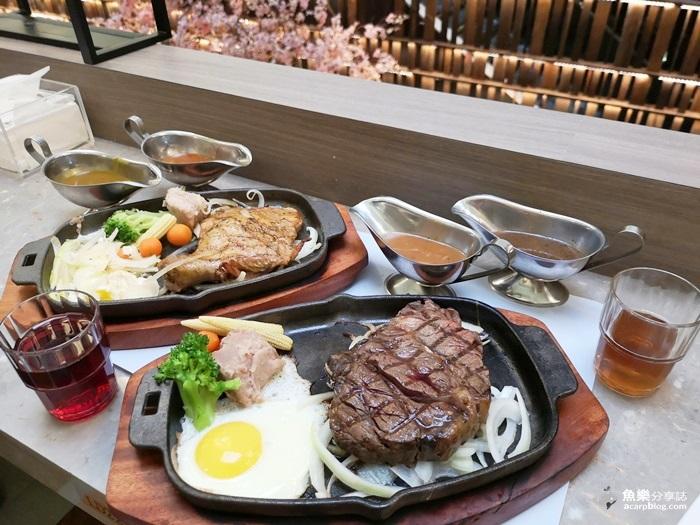 【臺北中正】德立莊中庭餐廳- CP值超高平價吃到飽|牛排+自助吧|西門町美食 – 魚樂分享誌